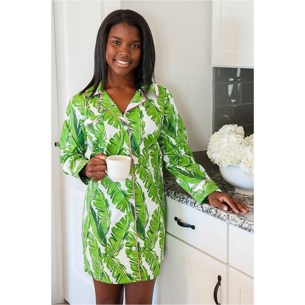 Banana Leaf Sleep Shirt