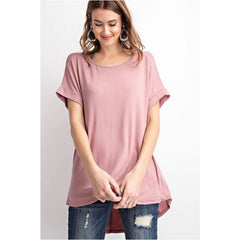 Special Promises Top In Mauve
