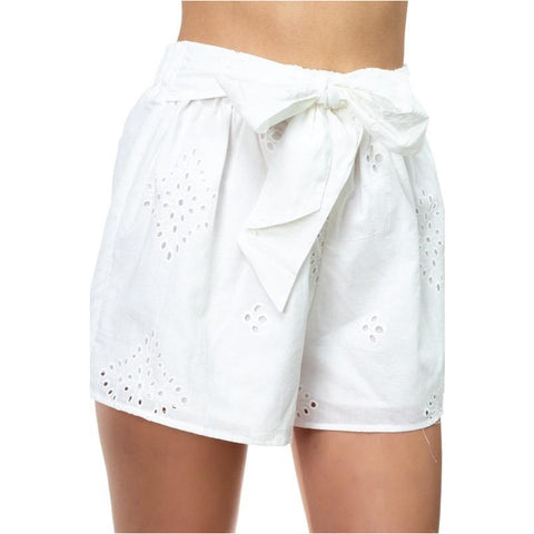 Z Supply Distressed Star Shorts