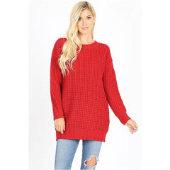 Vienna Sweater in Red