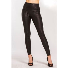 Snake Skin High Waisted Leggings