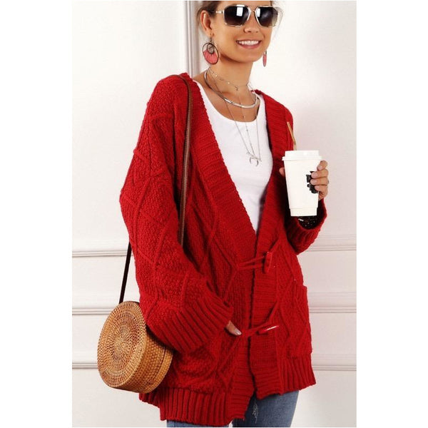 Toggle My Heart Cardigan