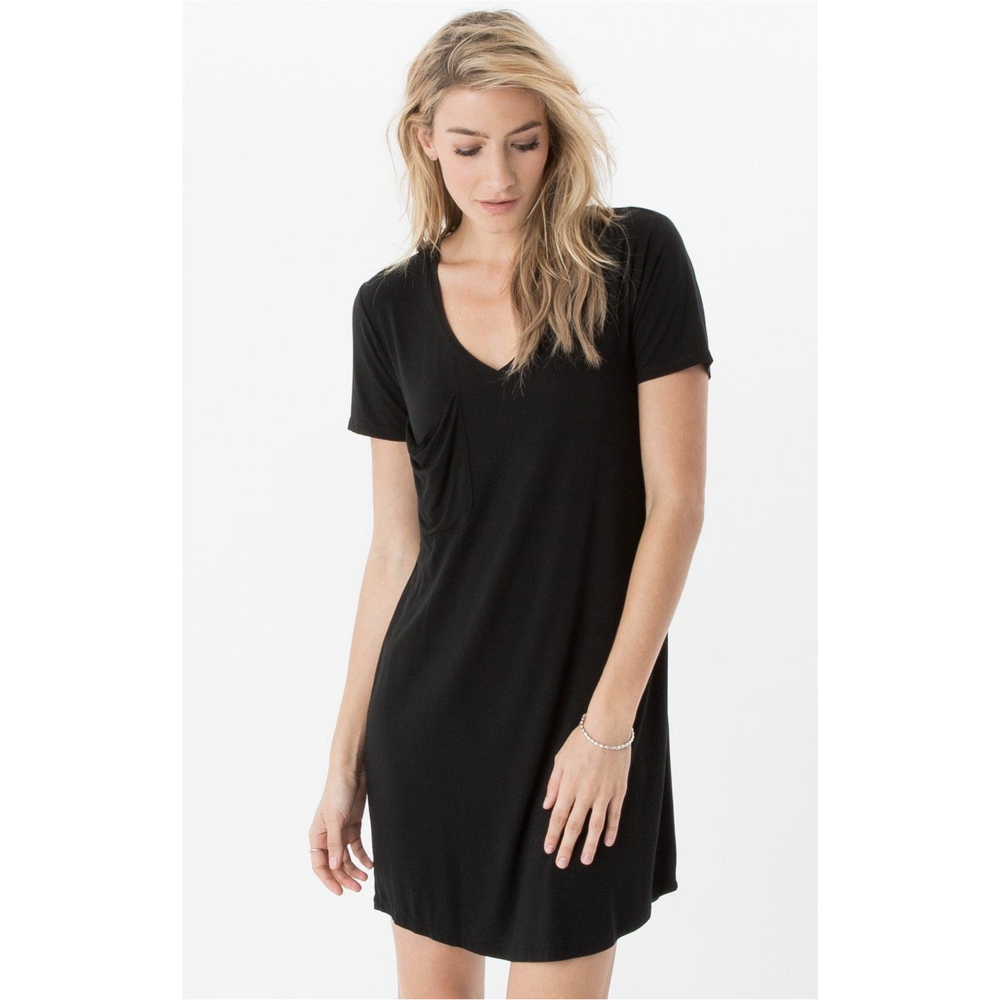 9ecac17b88e Z Supply The Pocket Tee Dress in Black