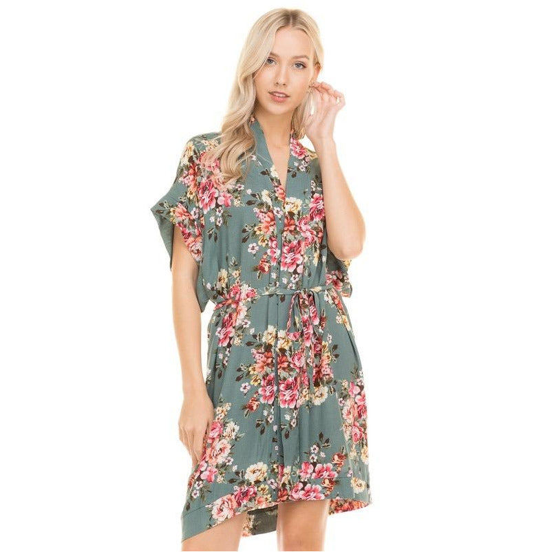 Japanese Flower Garden Dress