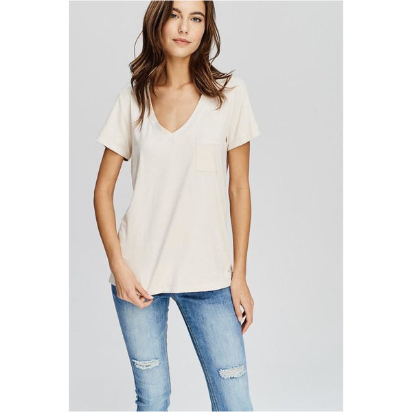 Amie Faux Suede Tee