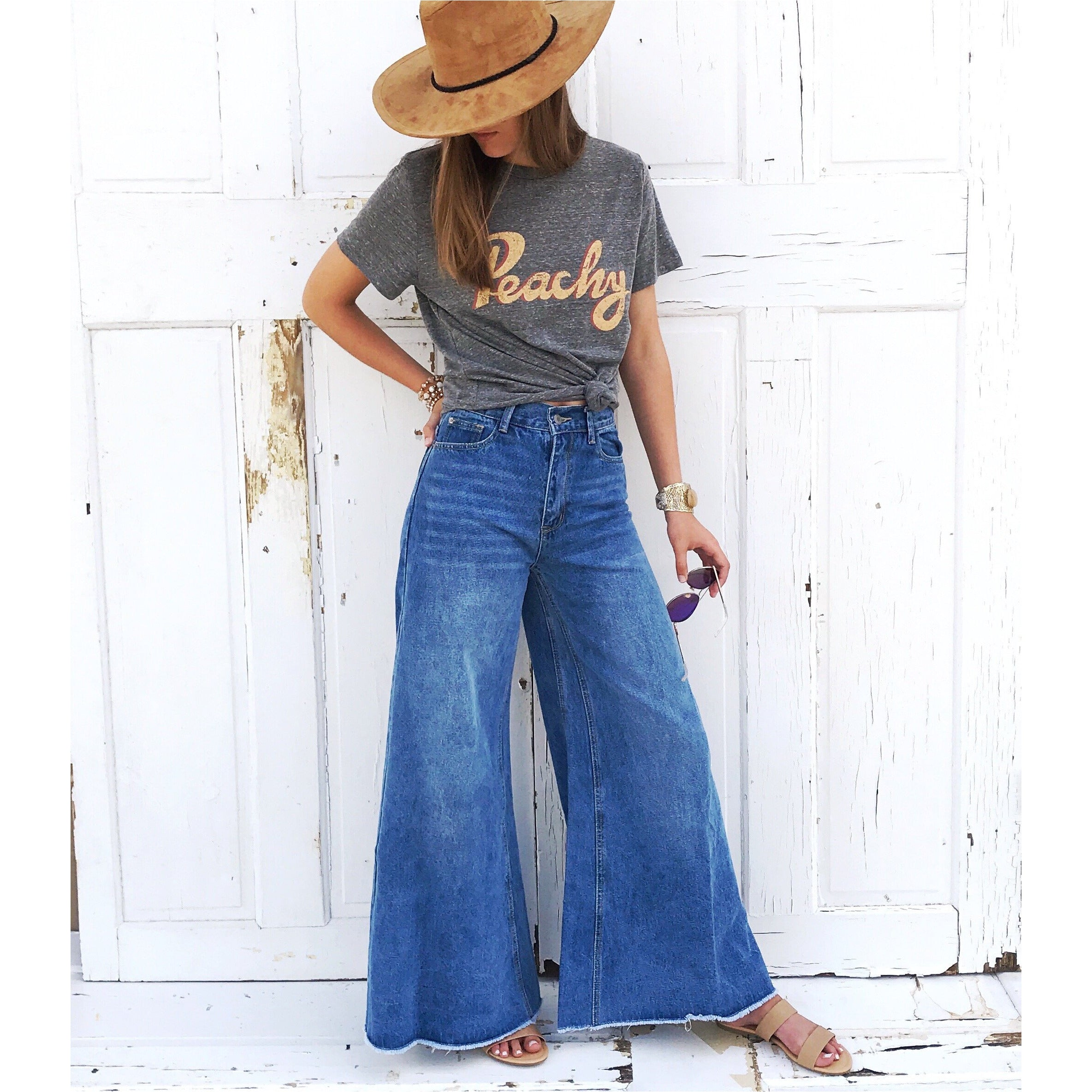 Berkley Highwaisted Wide Leg Jeans