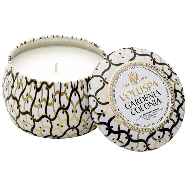 Voluspa Petite Decorative Tin Candle