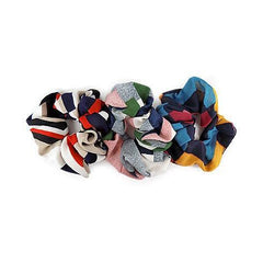Fall Patterned Scrunchies