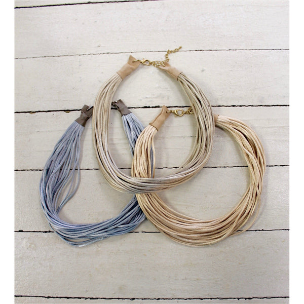Silk Cord Chokers