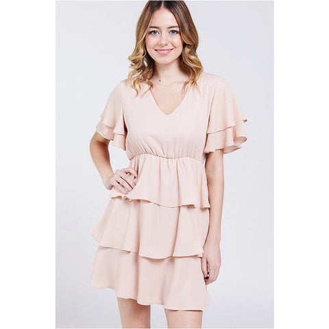 Peach Dreams Dress