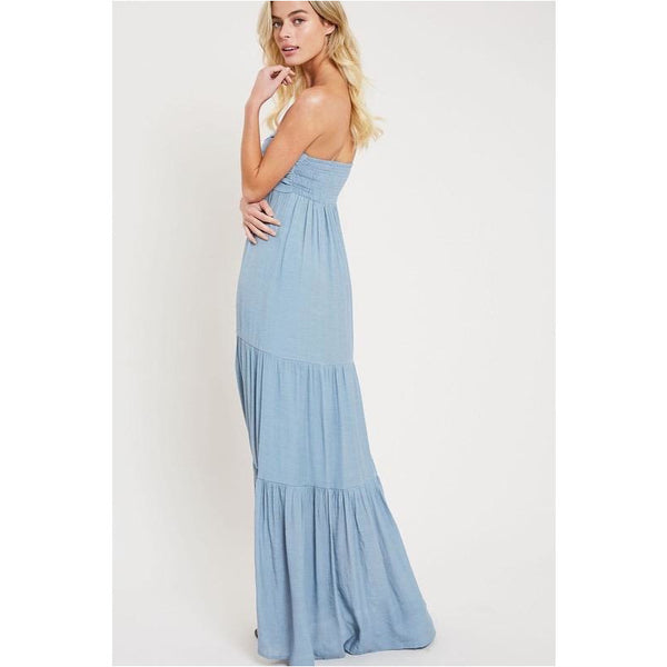 Cloudy In My Heart Maxi Dress