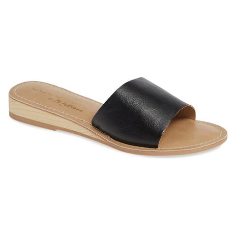 Band Wedge Sandal