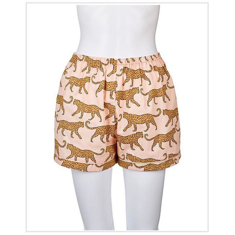 Leopard Sleep Shorts