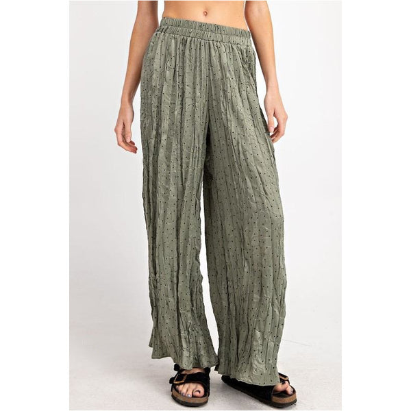 Misty Rain Pants in Sage Green