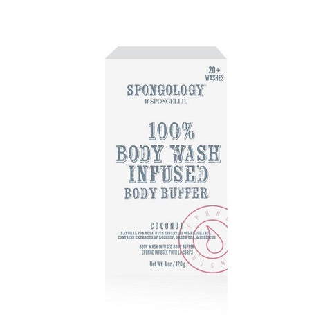 Spongelle Coconut Body Buffer