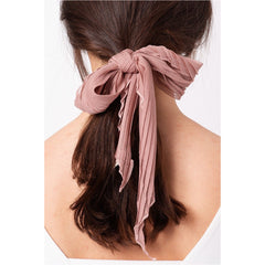 Pleated Ponytail Scrunchie
