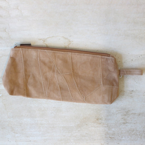 Ciara Suede Cosmetic Bag
