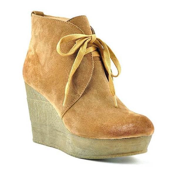 Sbicca Reprise Suede Lace Up Bootie
