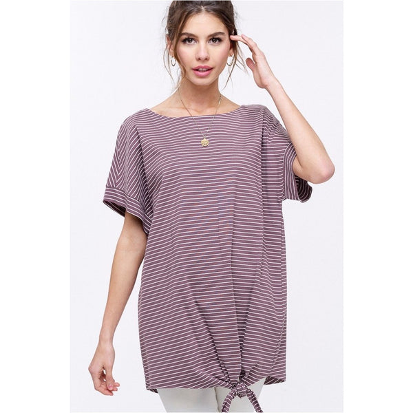 Genuine Tunic in Stripes