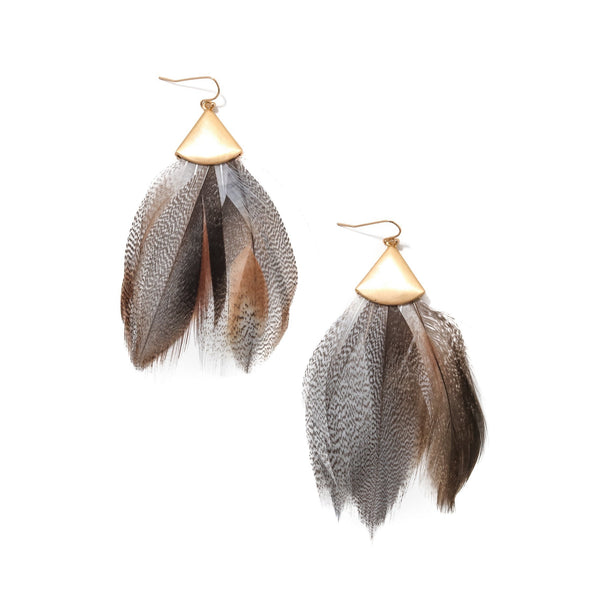 Brentwood Feather Earrings