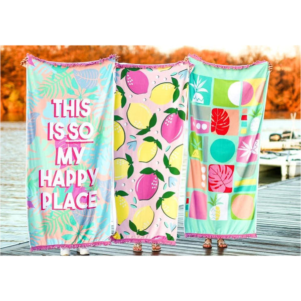 Jadelynn Brooke Beach Towels