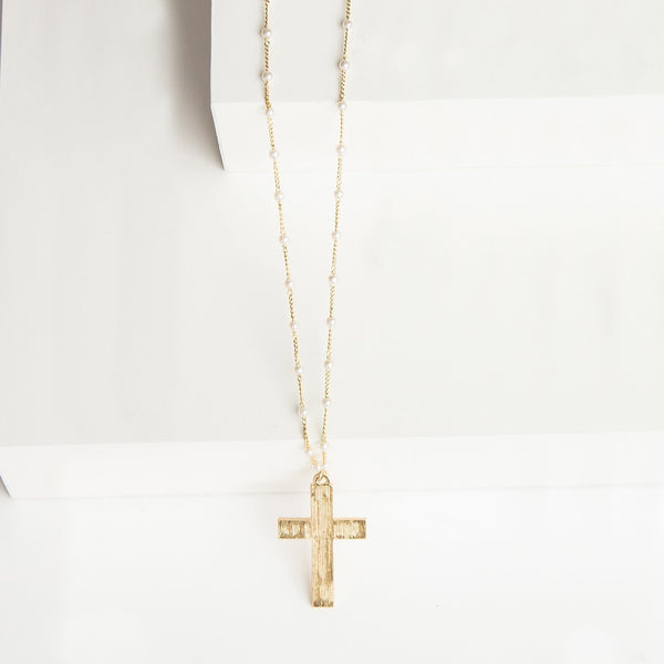 Brooke Cross Necklace