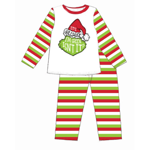 Jane Marie Gingerbread Man PJ Set
