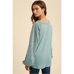 Hobson Heather Top
