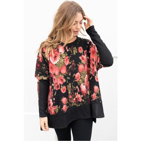 Flowers and Dots Blouse
