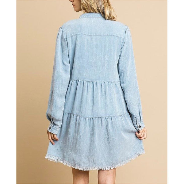 People Unite Denim Dress