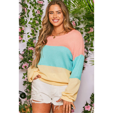 Miami Crown Baby Poncho Top