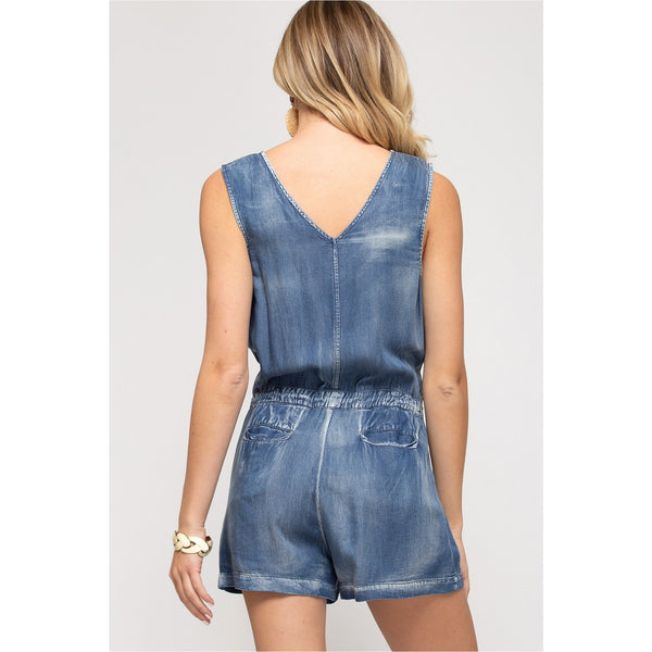 Fan Girl Romper