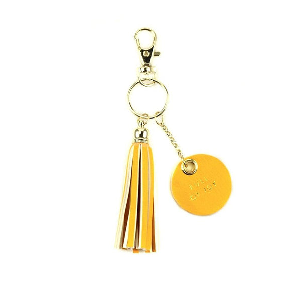 Life's a Party Tassel Keychains - A Little Bird Boutique  - 5