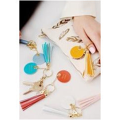 Life's a Party Tassel Keychains - A Little Bird Boutique  - 1