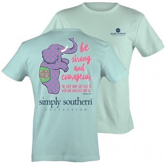 Simply Southern Be Strong T-shirt