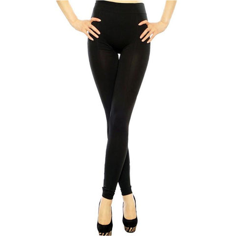 Knit Jersey Stirrup Leggings