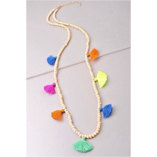 Fun Tassel Necklace