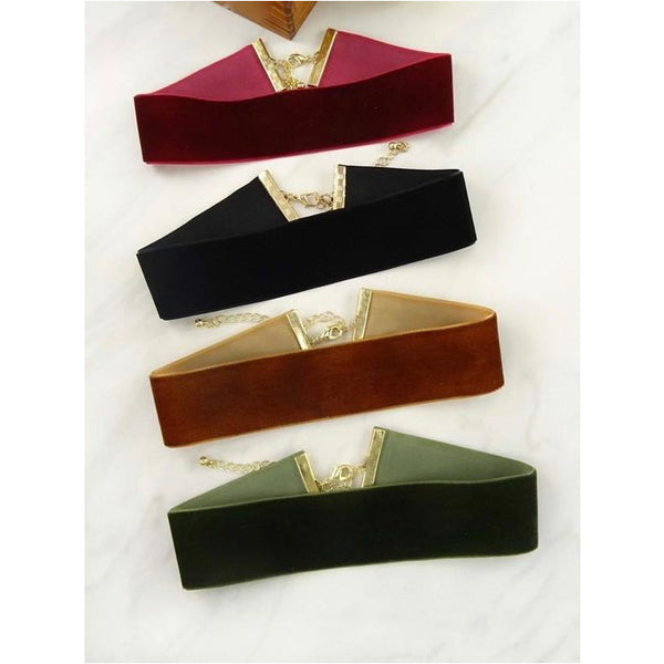 Velvet Choker Necklace