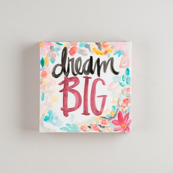 Glory Haus Sadie Robertson Collection Dream Big Canvas