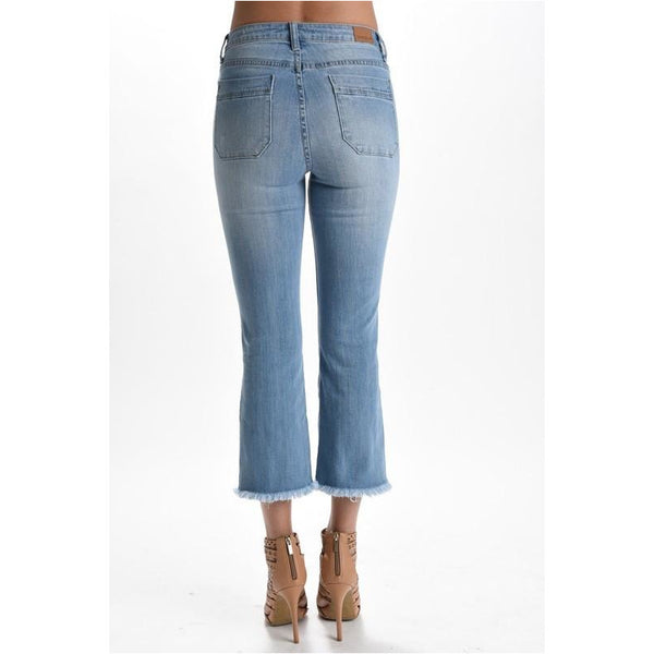 Memphis Frayed Jeans