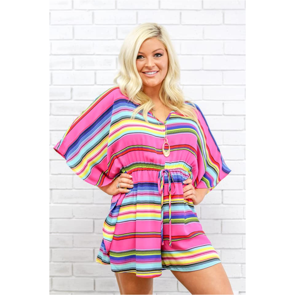 Erin Romper in Fiesta Nights