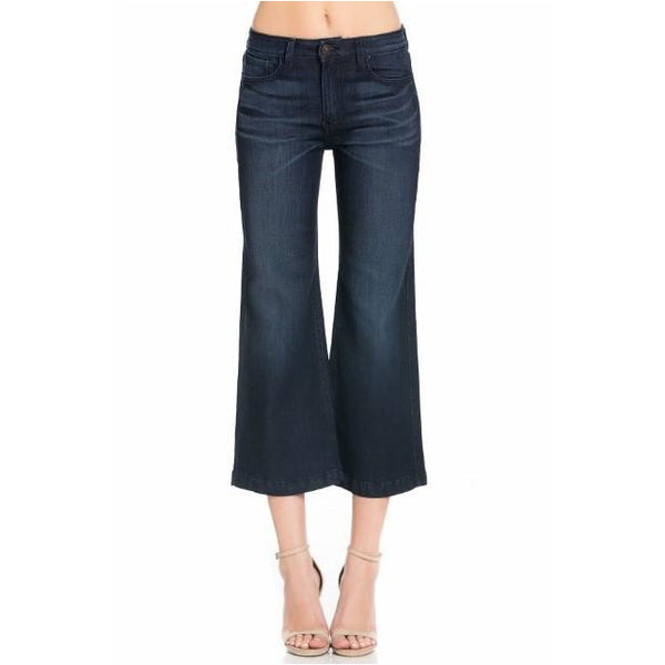 Fresno Flare Cropped Jeans