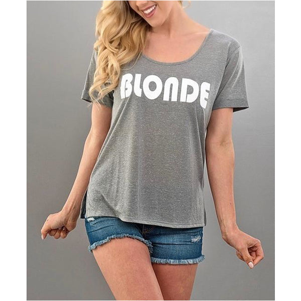 Blonde and Brunette T-shirts