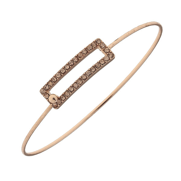 Canvas Rose Gold Wire Bracelets