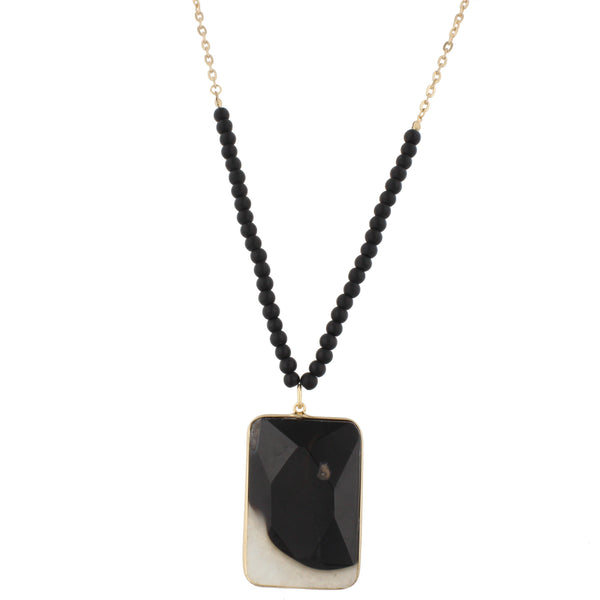 Jane Marie Stone Pendant Necklaces