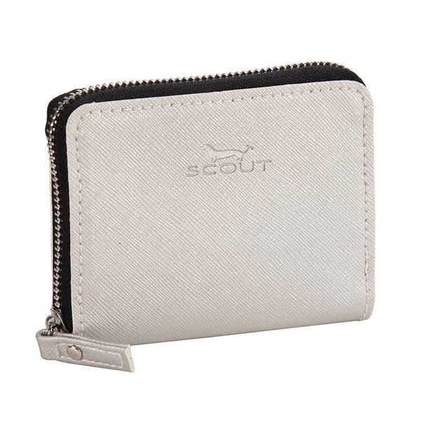Scout Bungalow Pocket Change Wallet - Silver