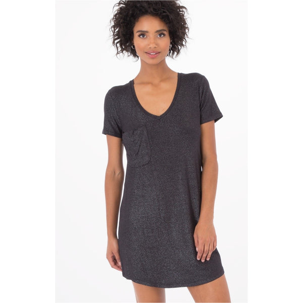 Z Supply The Shimmer Pocket Tee Dress