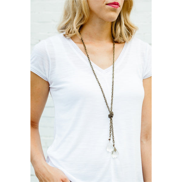 Lucy Inspired Clara Lariat Necklace