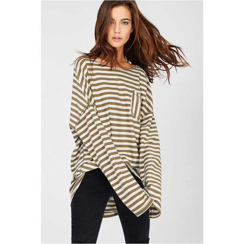 Almost Famous Striped Top