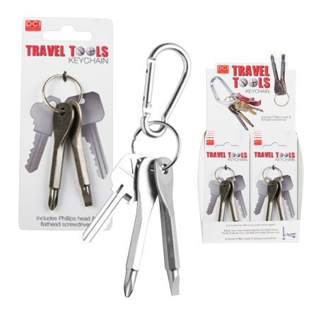 Travel Tools Keychain